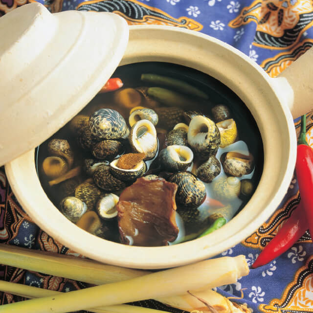 Braised Sea Snails